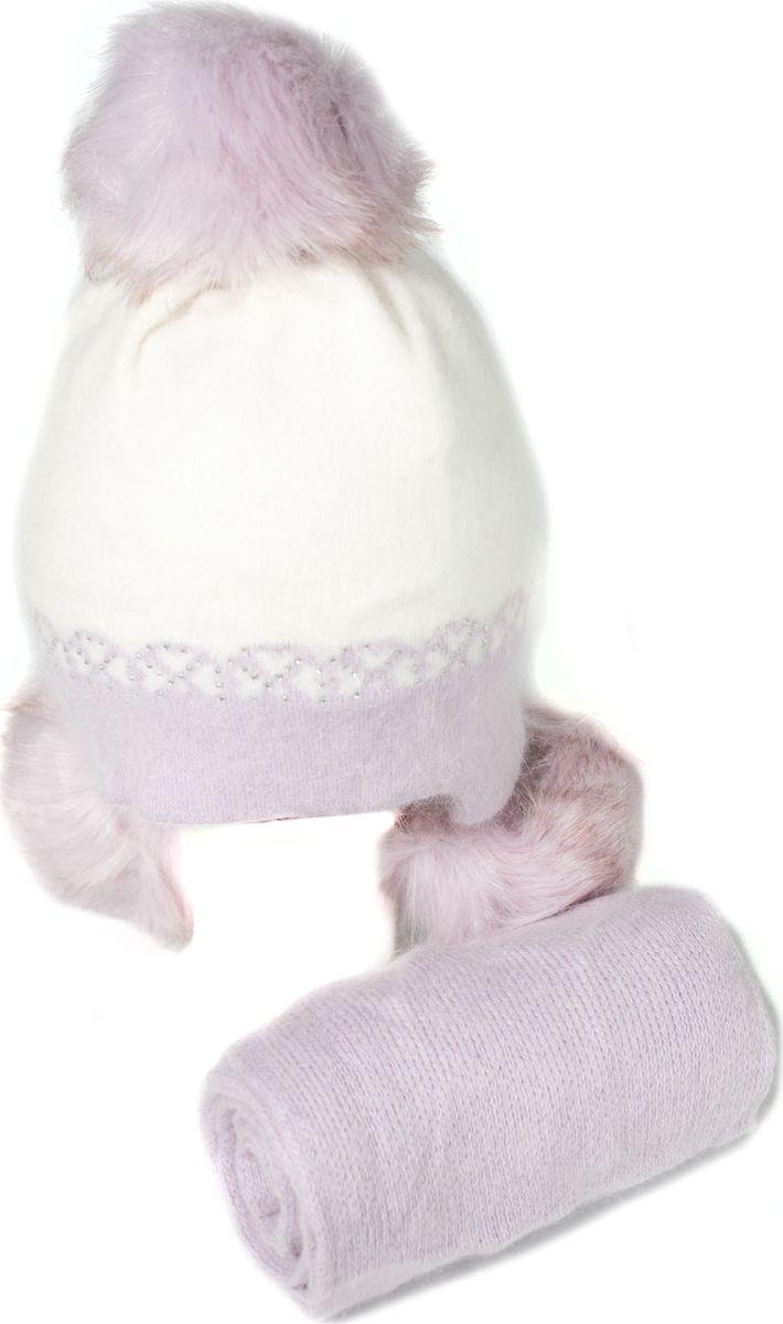 Комплект аксессуаров Mitya Veselkov шапка женская mitya veselkov цвет сиреневый shapka3 vio sad размер универсальный