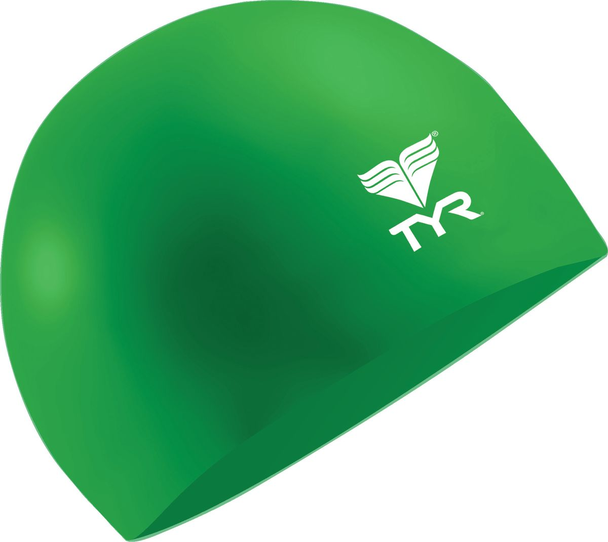 Шапочка для плавания Tyr Latex Swim Cap, цвет: зеленый. LCL шапочка для плавания tyr latex swim cap цвет зеленый lcl