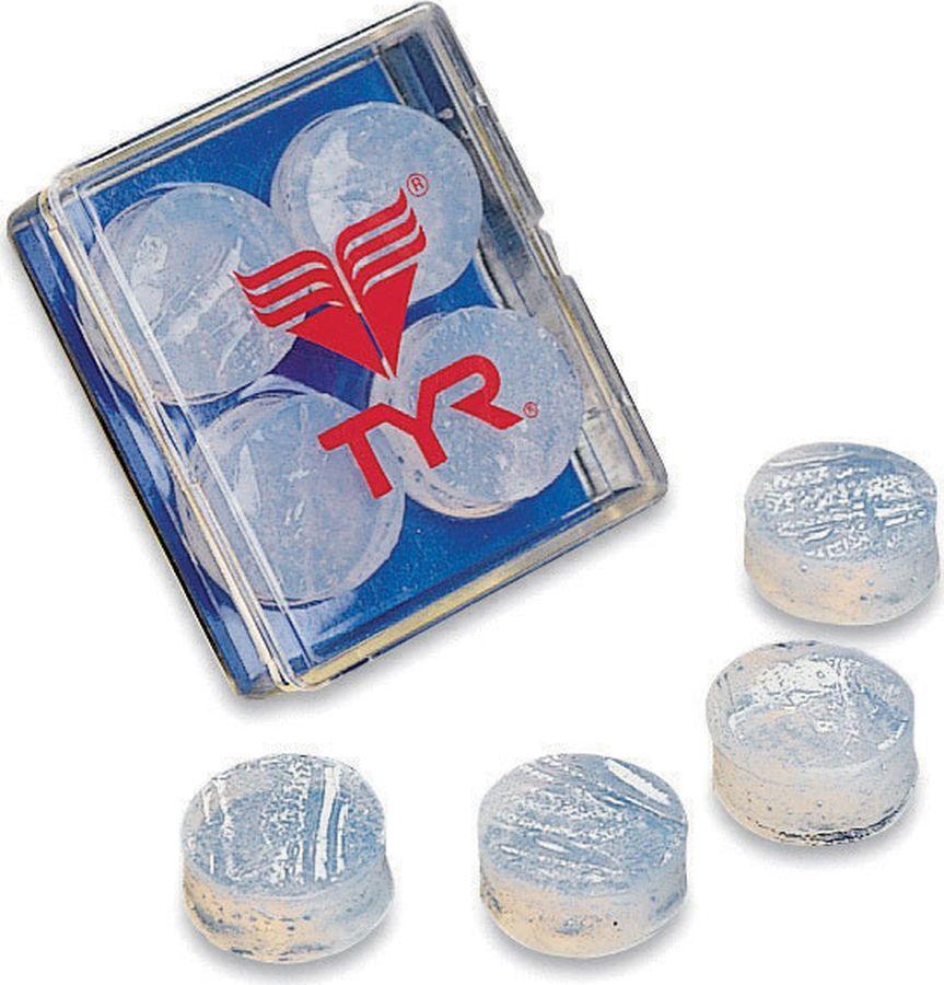 Беруши для бассейна Tyr Soft Silicone Ear Plugs, цвет: прозрачный. LEP беруши трэвелдрим силиконовые защита от воды 4 2пары