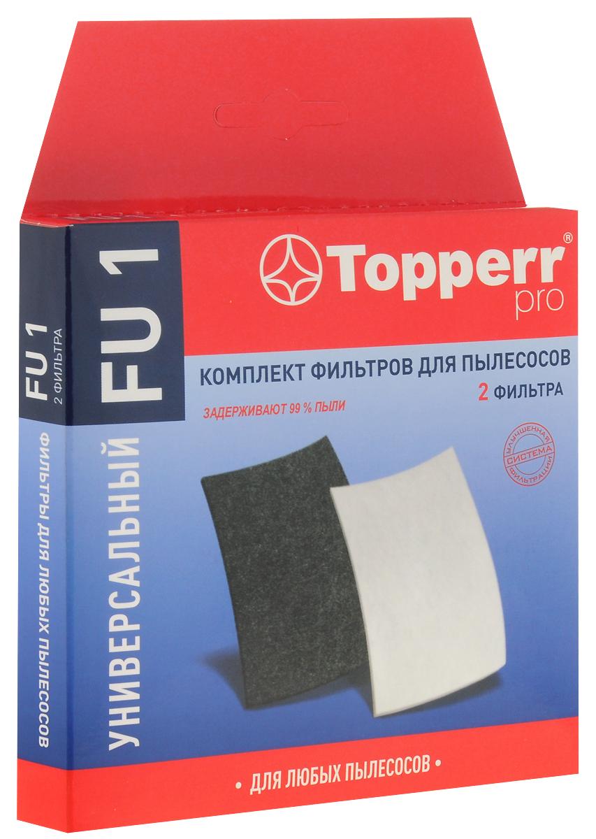 Topperr FU 1 комплект фильтров для пылесоса цена и фото