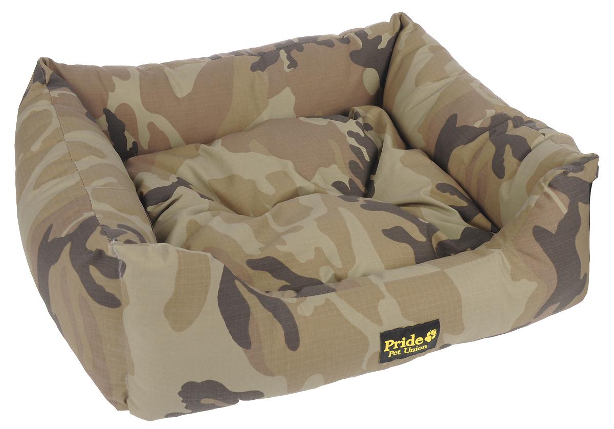Лежак для животных Pride Милитари-2, 70 х 60 х 23 см лежак для животных pride милитари 2 70 х 60 х 23 см