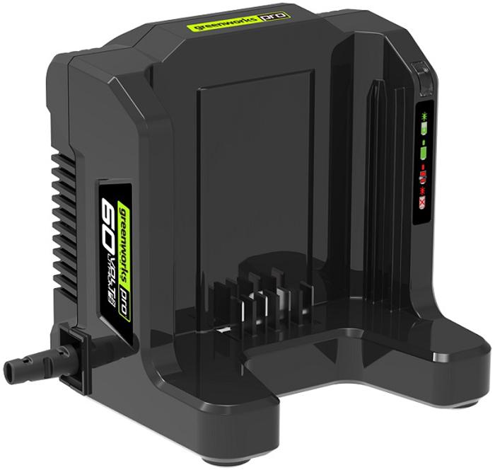 Зарядное устройство Greenworks 60V аккумулятор для инструмента greenworks g60b4 60v 4 а ч