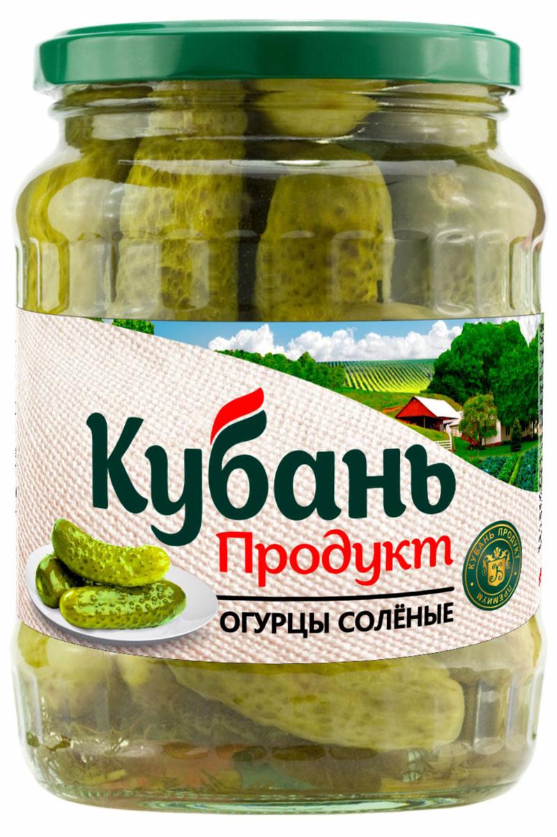 Кубань Продукт огурцы соленые, 680 г кубань продукт компот из кизила 1 л