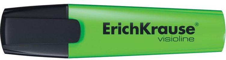 Текстмаркер ErichKrause Visioline V-12, цвет чернил зеленый цены