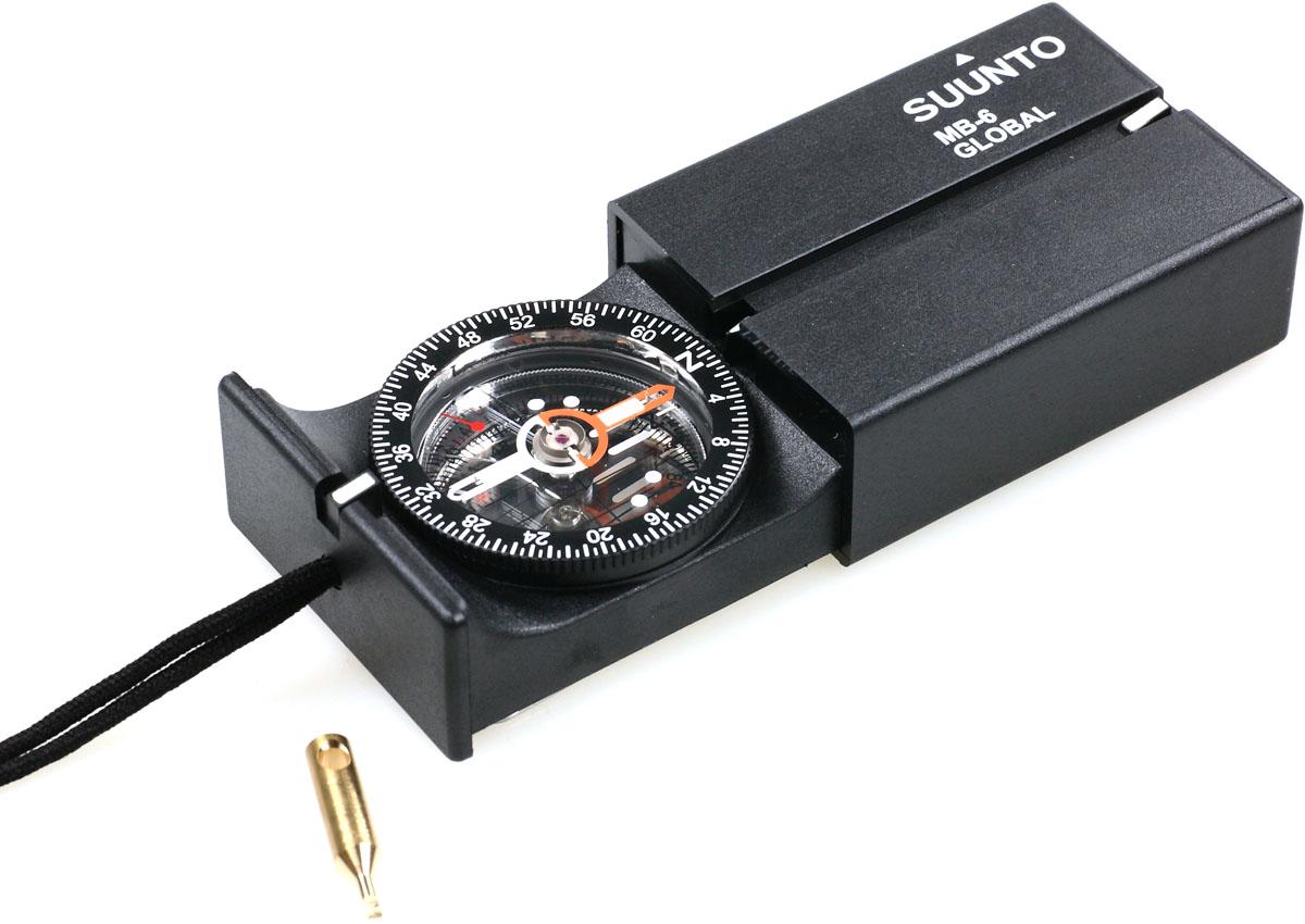 Компас Suunto MB-6 Global, цвет: черный