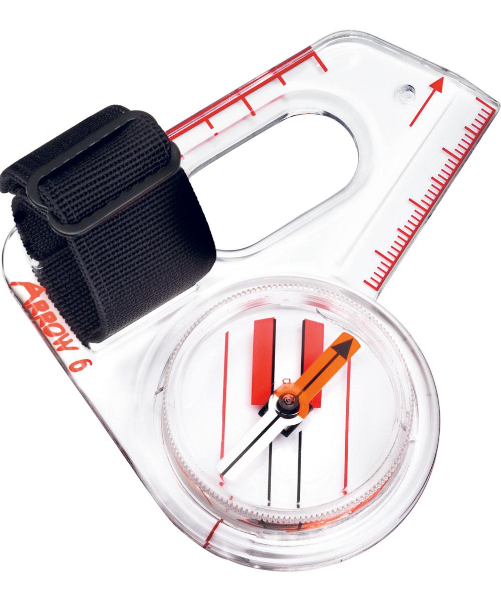 Компас Suunto ARROW-6 NH Compass, цвет: белый компас geonaute планшетный компас для спортивного ориентирования или походов explorer 500