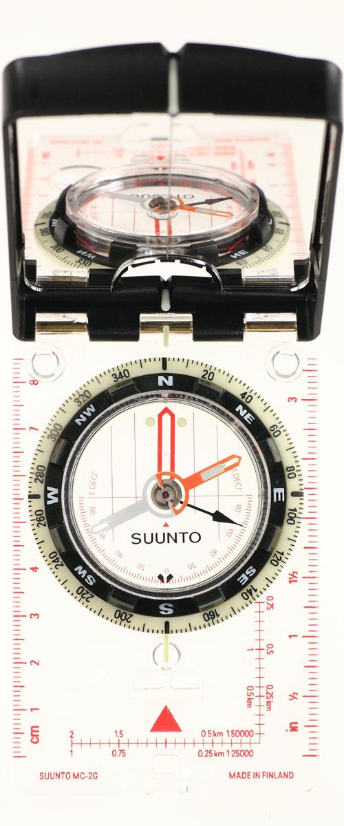 Компас Suunto MC-2 G Mirror Compass, цвет: белый цена