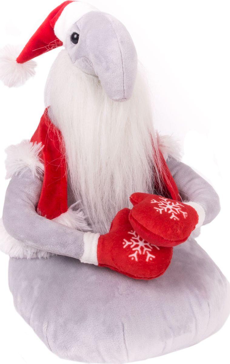 Gulliver Мягкая игрушка Ждун Дед Мороз 30 см gulliver мягкая игрушка ждун жду пятницу 30 см