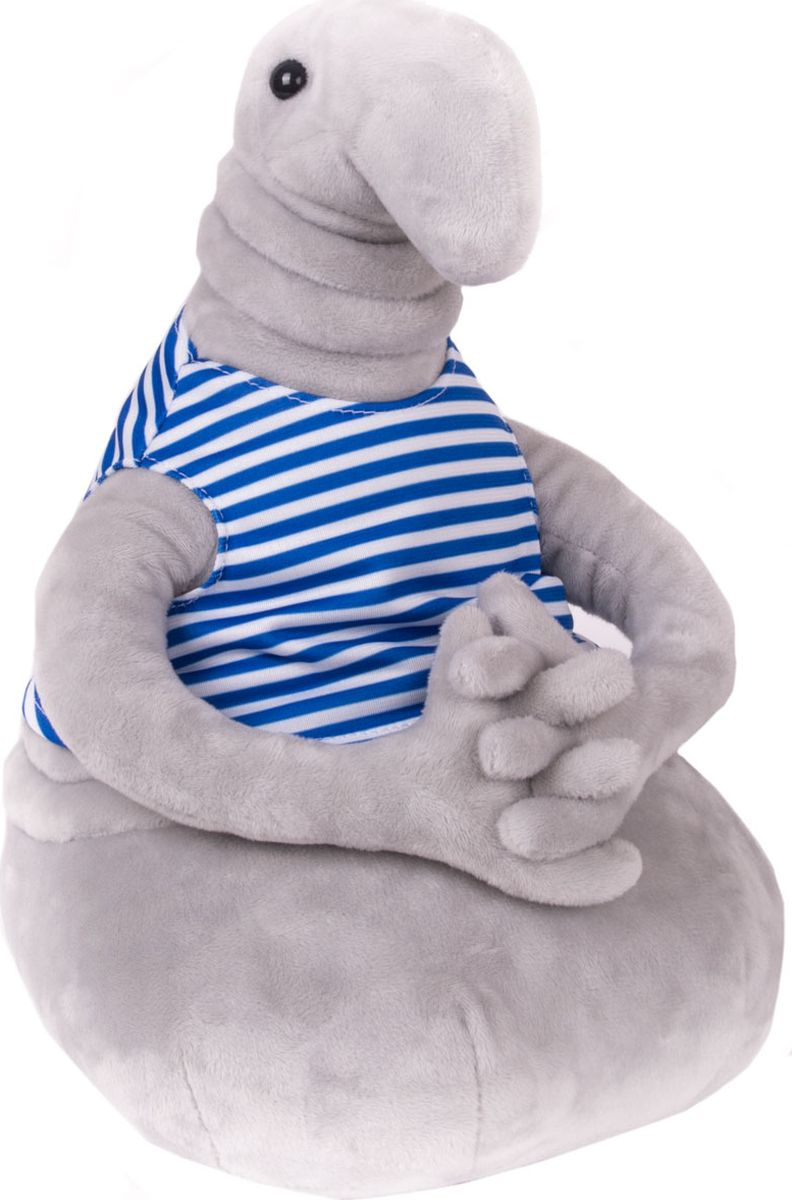 Gulliver Мягкая игрушка Ждун Жду праздник 30 см