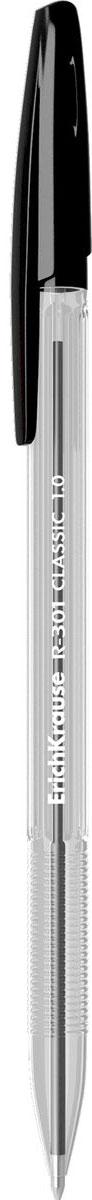 Erich Krause Ручка шариковая R-301 Classic 1.0 Stick черная erich krause набор шариковых ручек r 301 classic 1 0 stick 3 шт 42618