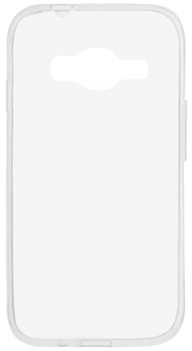 Skinbox 4People Slim Silicone чехол-накладка для Samsung Galaxy J106 J1 mini Prime, Transparent стоимость