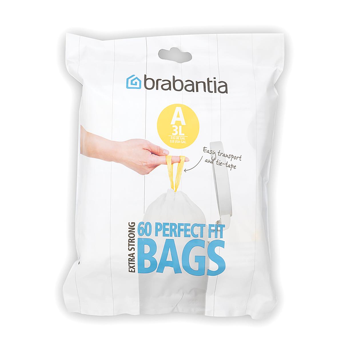 "Мешки для мусора ""Brabantia"", 3 л, 60 шт. 348983"
