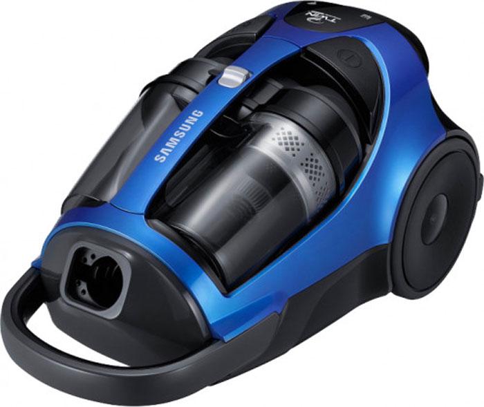 Пылесос Samsung SC-8836V36VCC8836V36/XEVПылесос Samsung SC-8836V36 – это мощное и производительное устройство, предназначенное для сухой уборки помещения. Пылесос является безмешковым, что означает отсутствие необходимости в покупке дополнительных расходных материалов. Мощность всасывания устройства доходит до 430 Вт, поэтому вы можете не сомневаться в эффективности уборки и непревзойденной чистоте своего дома. Технология Super Twin Chamber сохраняет максимальную силу всасывания на протяжении долгого времени. Она очищает на 20% дольше, чем другие пылесосы. Емкость пылесборника составляет 2 литра. Пылесос работает от сети и имеет радиус действия до 10 метров. Для удобства эксплуатации он оснащен индикатором сбора пыли. Дополнительным преимуществом Samsung SC-8836V36 является наличие мягкого бампера, который обеспечивает аккуратное соприкосновение пылесоса с другими предметами интерьера. Щетка пылесоса имеет специальную конструкцию для того, чтобы к ней не приставала пыль. Прорезиненные колеса также способствуют максимальному комфорту при эксплуатации. Как выбрать пылесос. Статья OZON Гид Рекомендуем!
