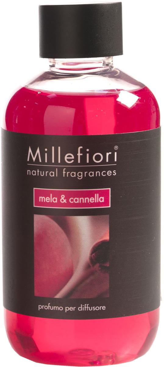 Ароматизатор Millefiori Milano Natural, яблоко и корица, сменный блок, 250 мл ароматизатор millefiori milano natural яблоко и корица сменный блок 250 мл