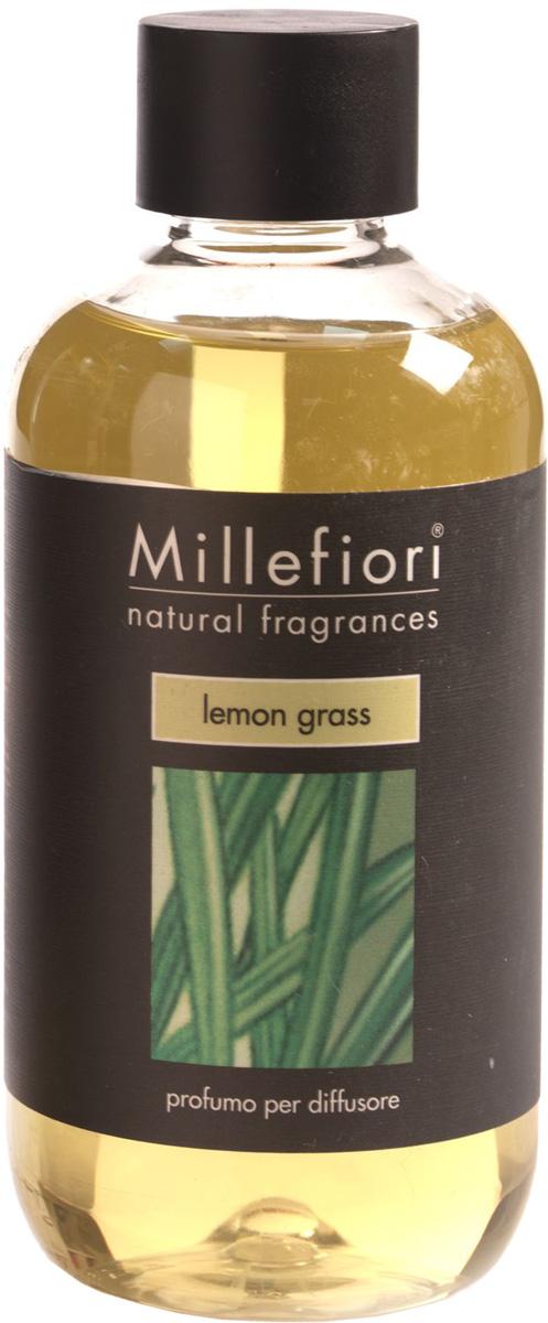 Ароматизатор Millefiori Milano Natural, лемонграсс, сменный блок, 250 мл ароматизатор автомобильный millefiori milano go11 лемонграсс