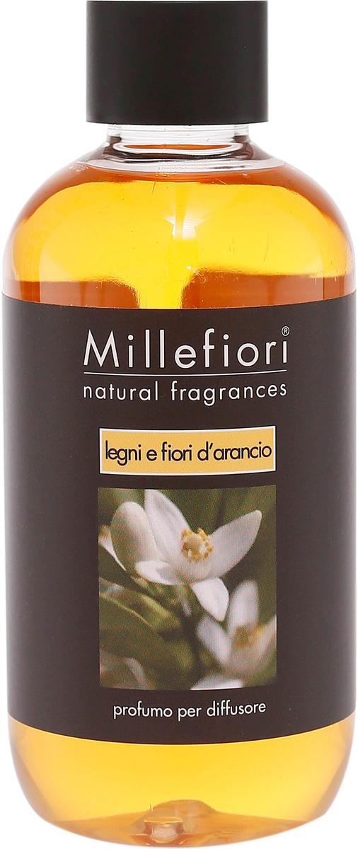 Ароматизатор Millefiori Milano Natural, лес и полевые цветы, сменный блок, 250 мл духи спрей для дома millefiori milano natural лес и полевые цветы legni e fiori d arancio 150 мл