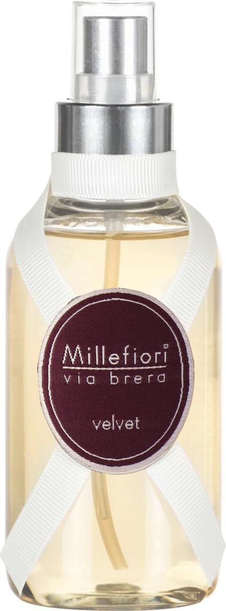 Ароматизатор Millefiori Milano Via Brera, вельвет, 150 мл ароматизатор millefiori milano natural цветы магнолии и дерево 150 мл