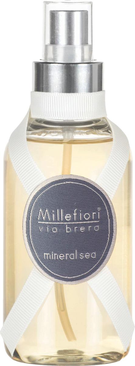 Ароматизатор Millefiori Milano Via Brera, минеральное море, 150 мл ароматизатор millefiori milano natural цветы магнолии и дерево 150 мл