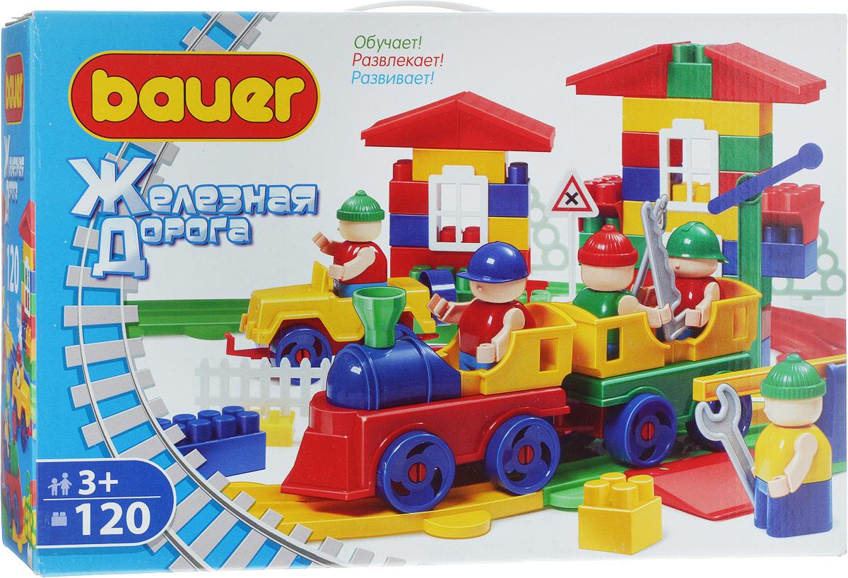 Bauer Конструктор Железная дорога 254 цена