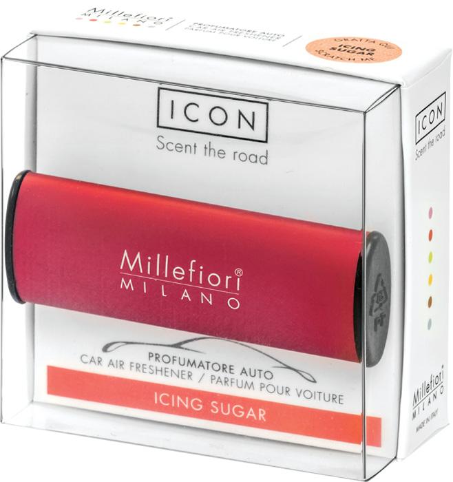 Ароматизатор автомобильный Millefiori Milano Icon. Классик, сахарная пудра, ароматизатор автомобильный millefiori milano go11 лемонграсс