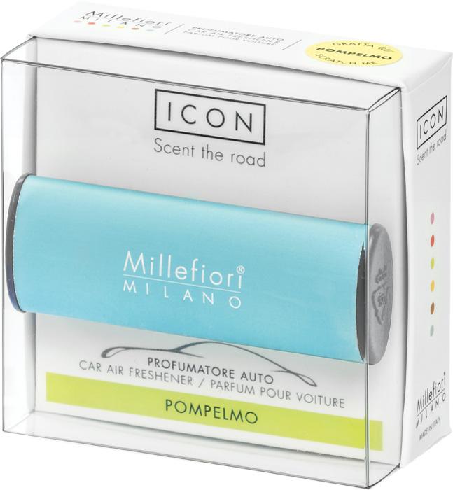 Ароматизатор автомобильный Millefiori Milano Icon. Классик, грейпфрут, ароматизатор автомобильный millefiori milano go11 лемонграсс