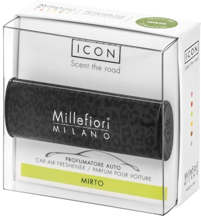 Ароматизатор автомобильный Millefiori Milano Icon. Животные, мирт, ароматизатор автомобильный millefiori milano go11 лемонграсс