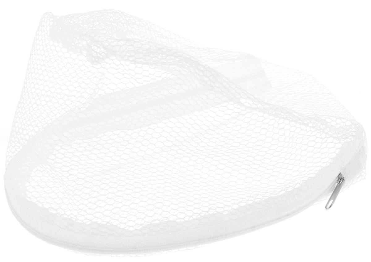Мешок для стирки бюстгальтеров Eva, цвет: белый мешок для стирки бюстгальтеров paterra дамский на жестком каркасе 20 х 17 см