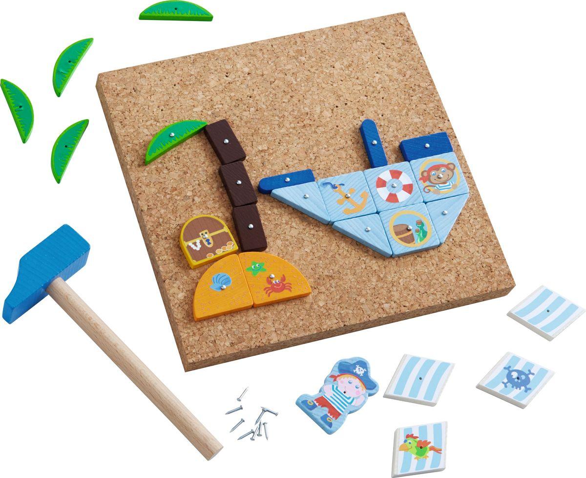Haba Обучающая игра Пиратский корабль egmont toys магнитная игра пиратский корабль egmont toys