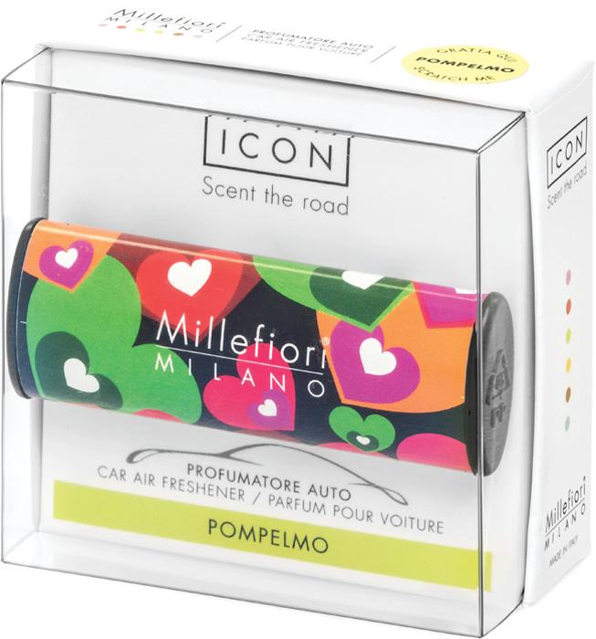 Ароматизатор автомобильный Millefiori Milano Icon. Цветы и сердца, грейпфрут, ароматизатор автомобильный millefiori milano go11 лемонграсс