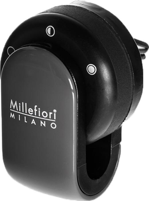 Ароматизатор автомобильный Millefiori Milano Go, сандал и бергамот, цвет: серый ароматизатор автомобильный millefiori milano go11 лемонграсс