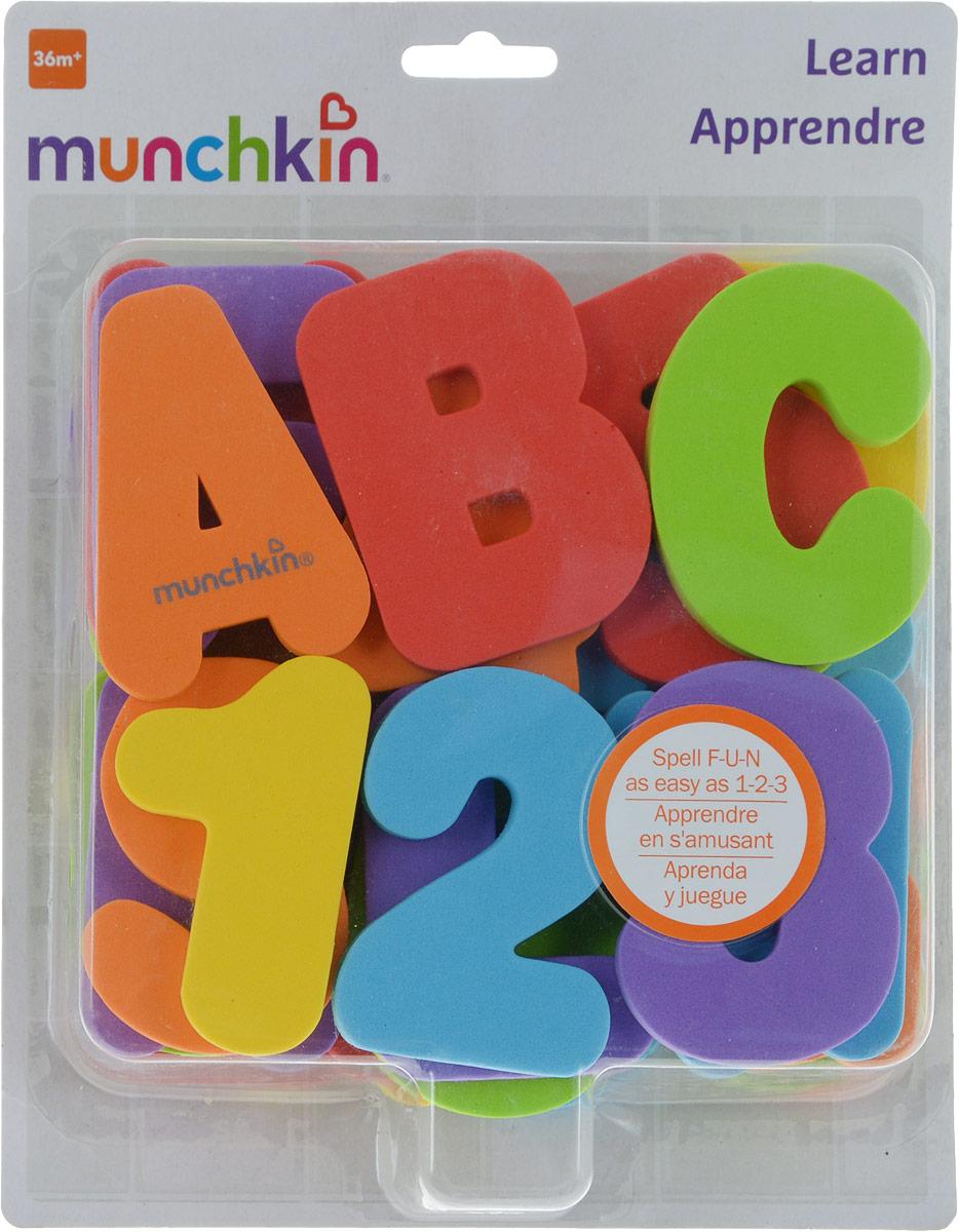 Munchkin игрушка для ванны Буквы и Цифры от 36мес