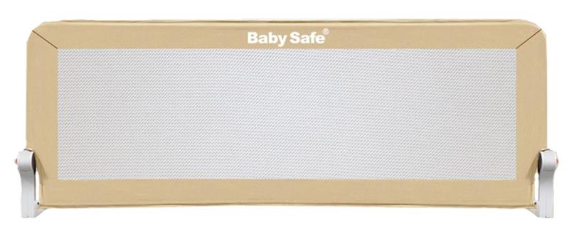 Baby Safe Барьер для кроватки 180 х 42 см цвет бежевый барьер для кровати baby safe 180 см