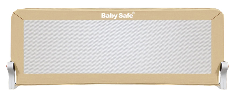 Baby Safe Барьер для кроватки 180 х 66 см цвет бежевый барьер для кровати baby safe 180 см