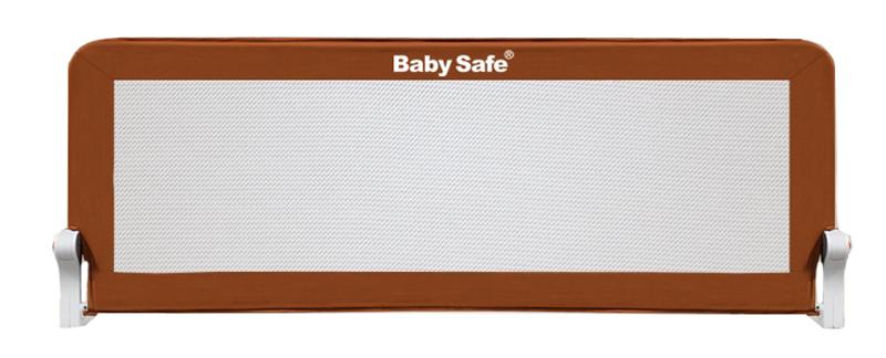 Baby Safe Барьер для кроватки цвет коричневый 180 х 66 см барьер для кровати baby safe 180 см