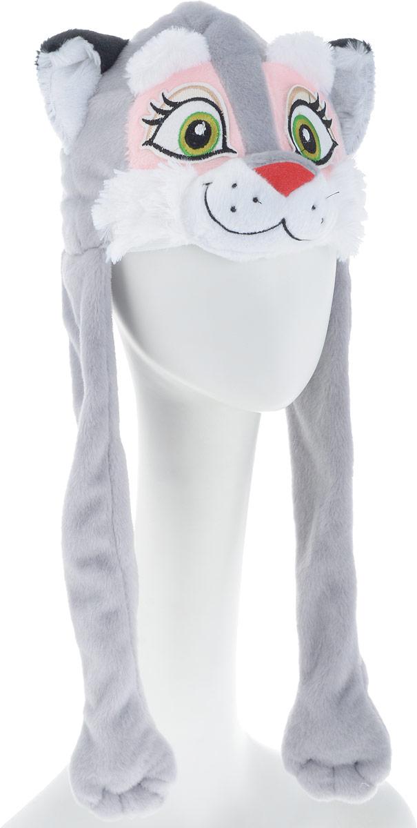 Карнавалия Карнавальный аксессуар для девочки Кошечка цвет серый размер 54