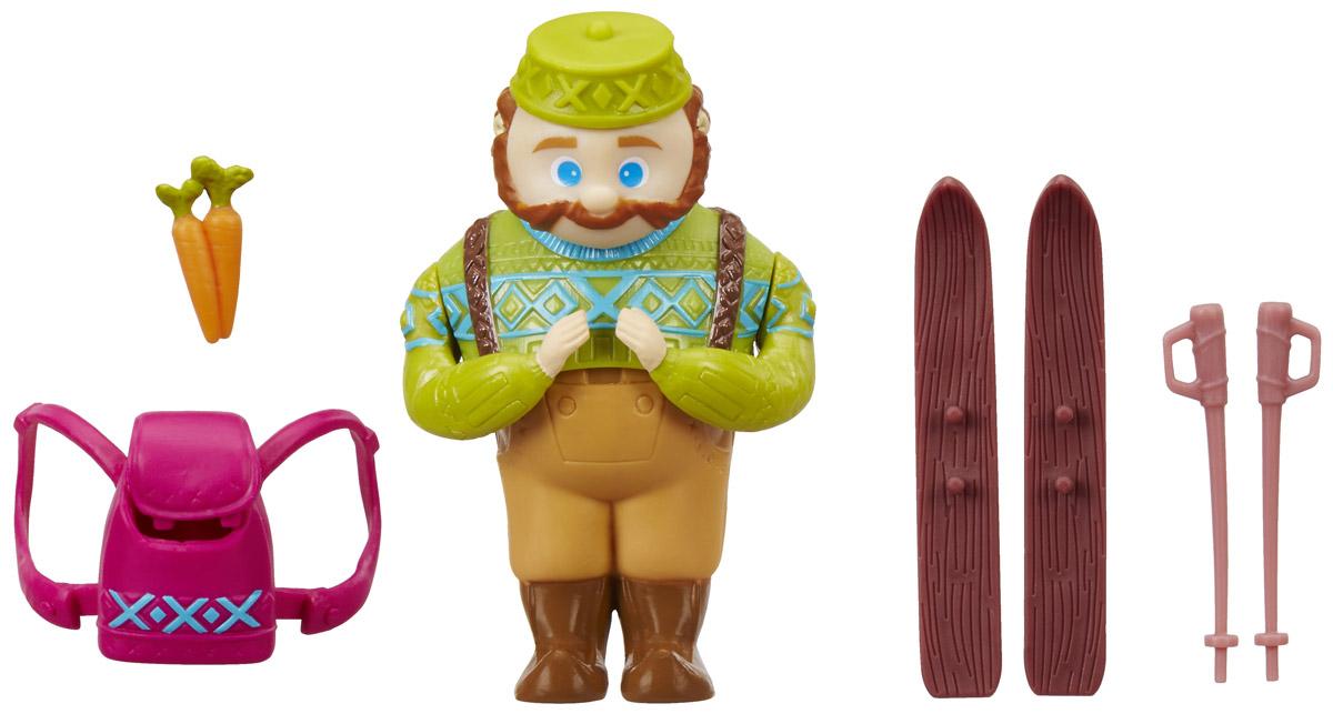 Disney Frozen Мини-кукла Oaken's Ski Trip цена и фото