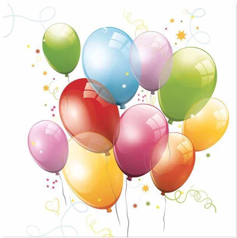Салфетки Pol-Mak Daisy Разноцветные шарики, трехслойные, 33 х 33 см, 20 шт салфетки pol mak детский мотив трехслойные 33 х 33 см 20 шт