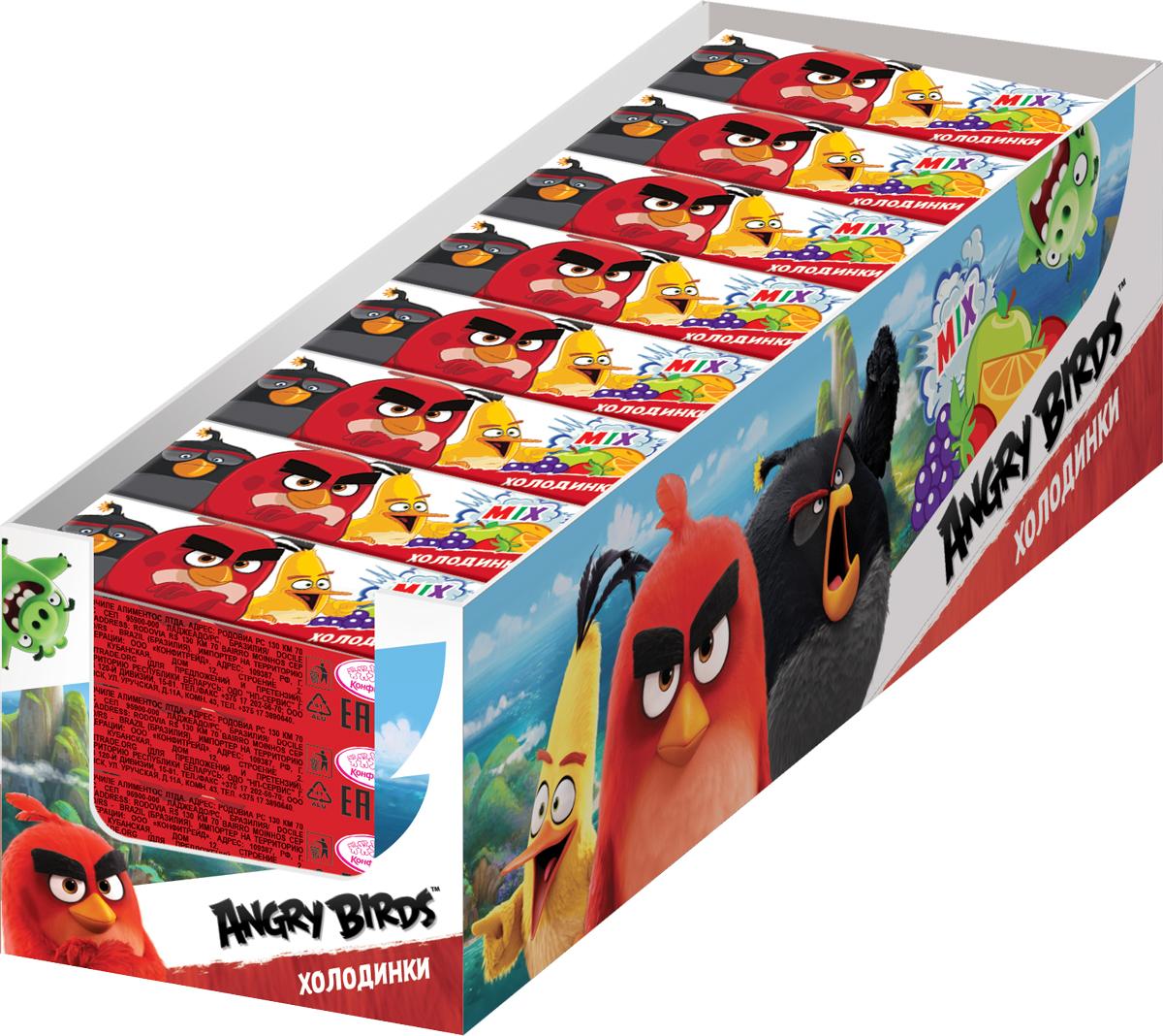 цена на Конфитрейд Angry Birds Movie драже холодинки, 40 шт по 17 г