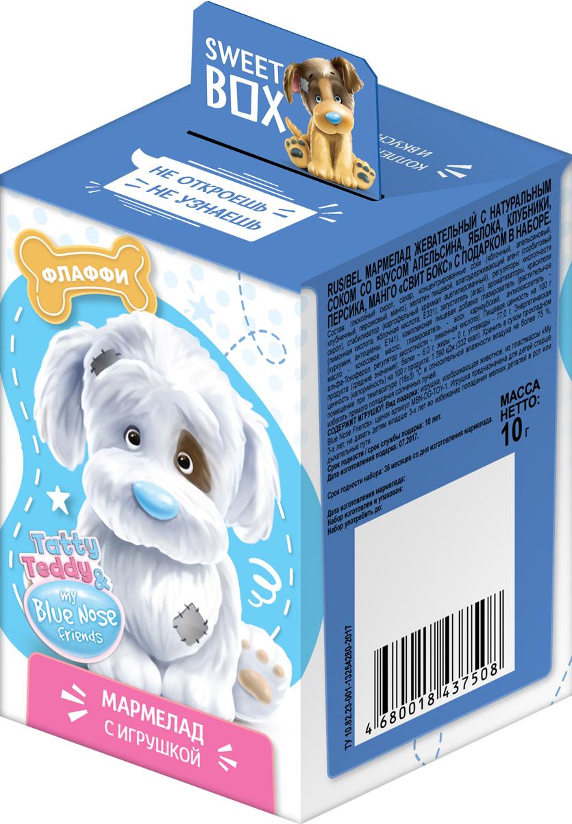 Конфитрейд SweetBox My Blue Nose Friends щенята мармелад с игрушкой, 10 г цена