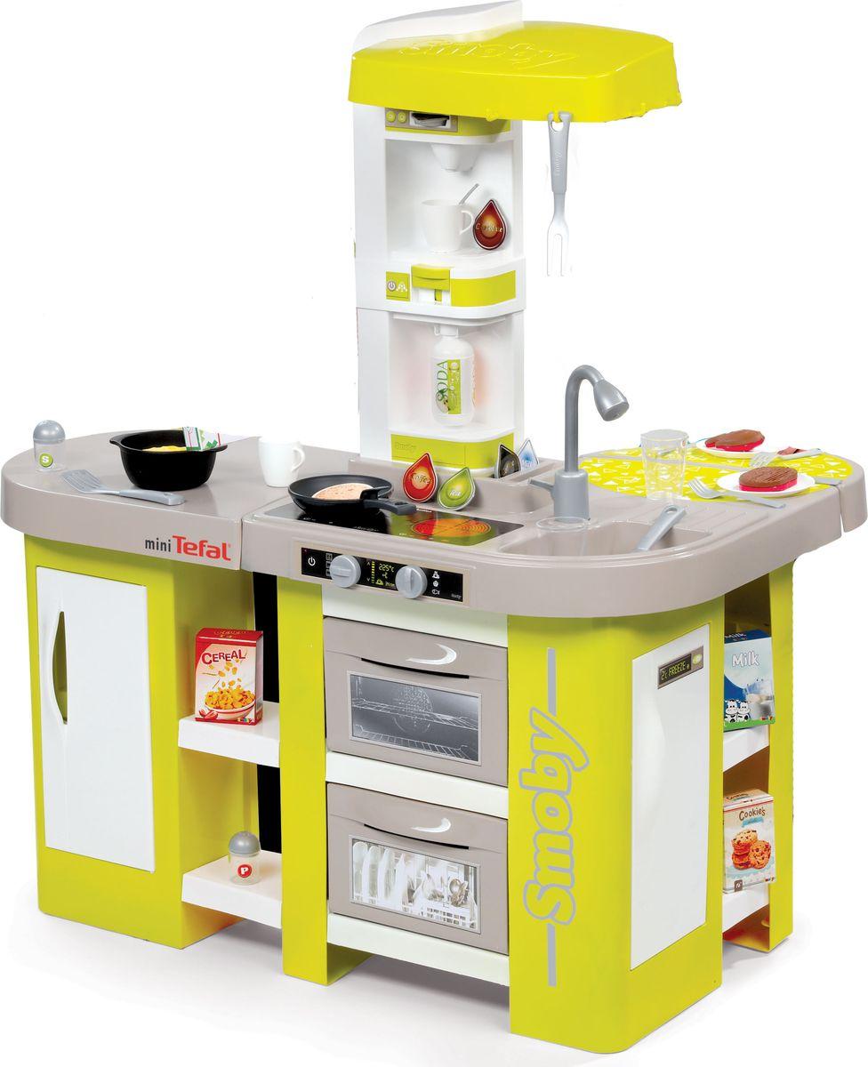 Smoby Игровой набор Кухня Tefal Studio XL smoby кухня электронная tefal super chef deluxe звук пузырьки 46 аксессуаров 311304