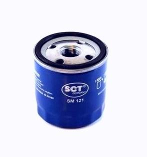 Масляный фильтр SCT SM121 воздушный фильтр sct sb2297