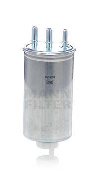 Фильтр топливный Mann-Filter, для Renault Logan топливные добавки