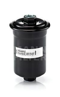 Топливный фильтр MANN-FILTER Hyundai H-1, H100 93-00, Sonata II, WK61411 wlring store universal 16 row an10 engine transmiss oil cooler kit filter relocation blue