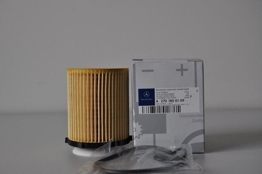 Масляный фильтр Mercedes-Benz, М270, М274, A2701800109 фильтр масляный comaro 01 01 70032