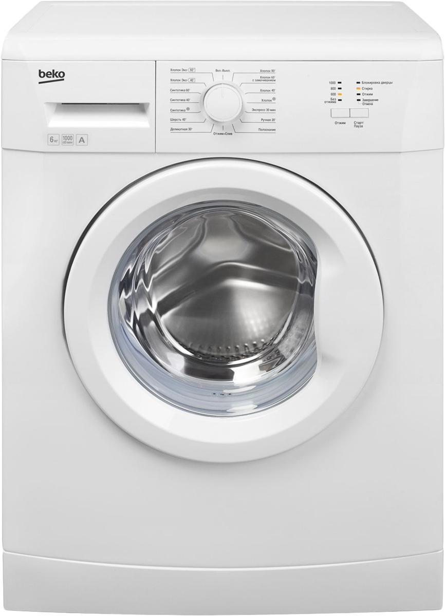 Beko WKB61001Y стиральная машина