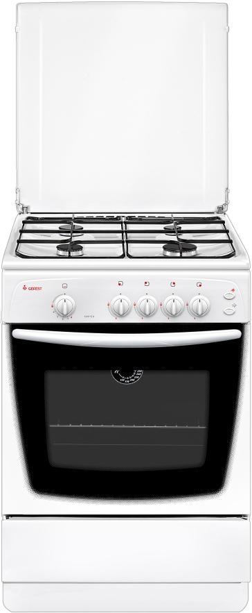 Газовая плита Gefest 1200-00 С 6 К33, 180901, white