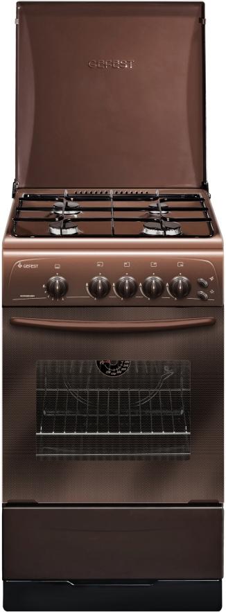 Плита Gefest 3200-06 K 19, газовая, коричневый