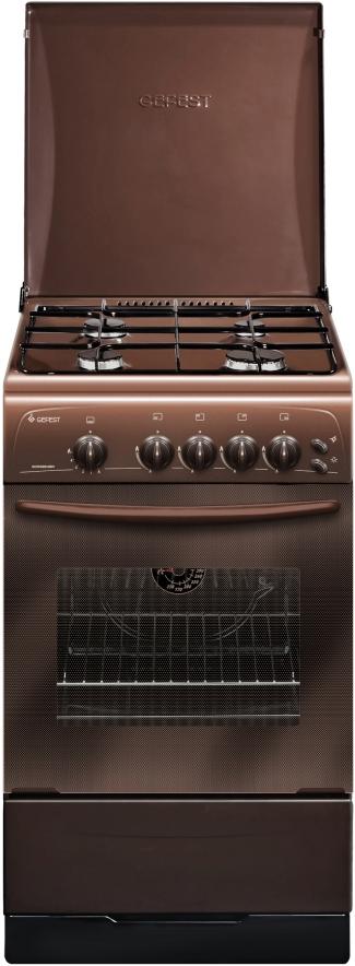 Плита Gefest 3200-06 К43, газовая, коричневый