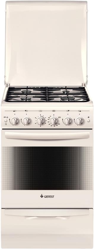 Gefest 5100-02 0167 плита газовая терморегулятор механический 701 нк кремовый