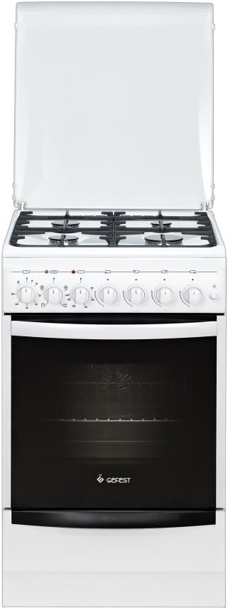 Плита Gefest 5102-02, комбинированная, белый
